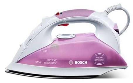 Žehlička Bosch TDS 1112 sensixx steam generator