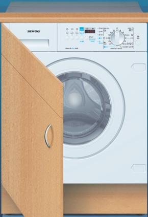 Pračka/sušička Siemens WDI 1442 EU vestavná